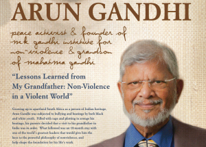 Arun Gandhi